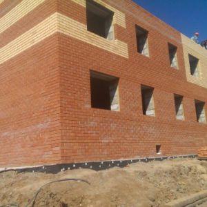 """Строительство жилого микрорайона г.Кудымкар. Внутренние стены из газоблока """"Бетарм"""""""